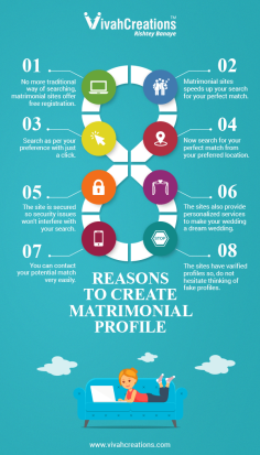 Why One Should Create A Matrimonial Profile?