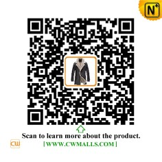 CWMALLS® New York Shearling Double Breasted Coat CW890013